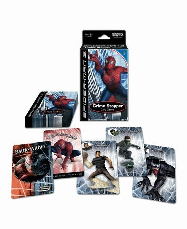 Spiderman 3 Crime Stopper Card Game