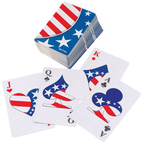 Patriotic Playing Cards - 1