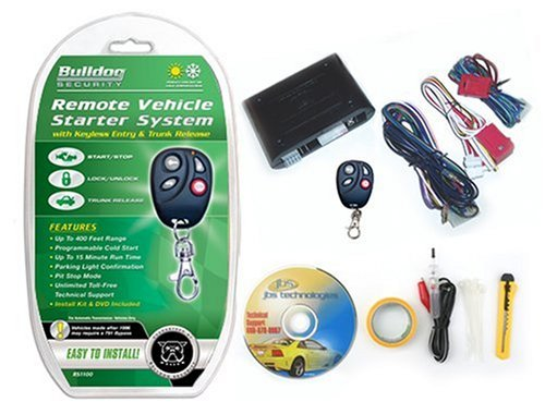 Bulldog RS1100 Remote Starter  Keyless Entry