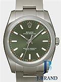 [ロレックス]ROLEX 腕時計 オイスター パーペチュアル34 オリーブグリーンバー 114200 メンズ [並行輸入品]