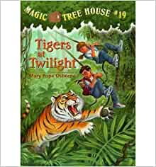 Tigers at Twilight (Magic Tree House) (Hardback) - Common