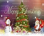 1/4 ~ Winter Theme Merry Christmas Birthday ~ Edible Image Cake/Cupcake Topper!!!