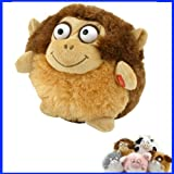 Interactive Puffster Monkey Laughing Plush Toy Vibrating VERY