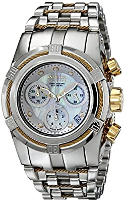 Invicta Women's 15273 Bolt Analog Display Swiss Quartz Silver Watch
