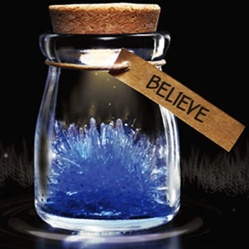 Diy Growing Grow Crystal Bottle Jar Powder Led Mood Light Lamp Wishing Wish Blue front-1055370
