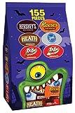 Hersheys Halloween Assortment (Hersheys, Reeses, Heath, York, Kit Kat), 46.95-Ounce Bag