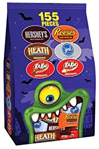 Hershey's Halloween Assortment (Hershey's, Reese's, Heath, York, Kit Kat), 46.95-Ounce Bag