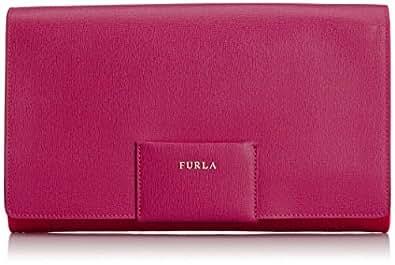 Amazon.com: Furla Zizi Medium Pochette Evening Bag, Mirto