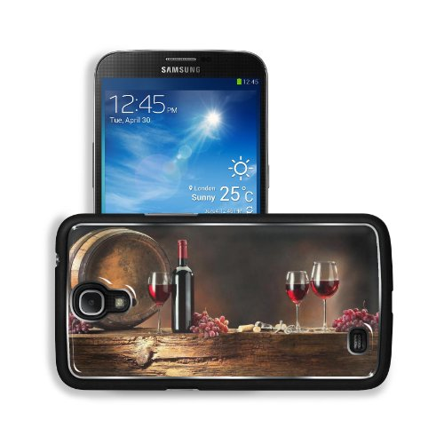 Wine Grapes Drink Cask Wine Glasses Bottle Samsung Galaxy Mega 6.3 I9200 Snap Cover Premium Aluminium Design Back Plate Case Customized Made To Order Support Ready 6 5/8 Inch (168Mm) X 3 9/16 Inch (91Mm) X 4/8 Inch (12Mm) Liil Galaxy Mega 6.3 Professional