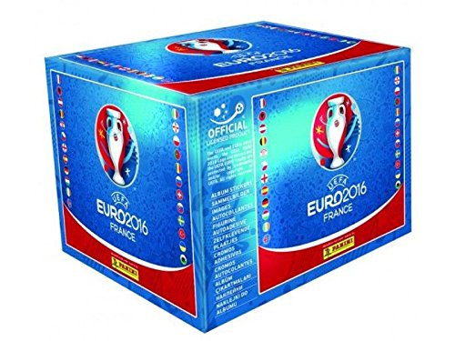 Panini Euro 2016 Sticker Display mit 50 Tüten