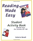 Reading Made Easy Student Activity Book Four: A student workbook for Reading Made Easy