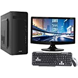 "3YRS WARRANTY DESKTOP WITH CORE I3 CPU / 4GB RAM/ 500GB HDD / ATX CABINET WITH 18"" LED DESKTOP PC COMPUTER"
