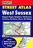 Philip's Street Atlas West Sussex: Spiral Edition