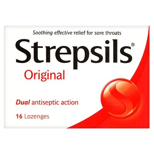 Strepsils Throat Sweets Original 16's