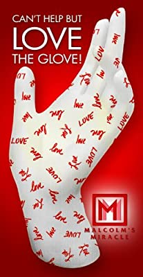 Malcolm's Miracle LOVE Moisture Jamzz Moisturizing Gloves - Made in the USA with Biodegradable Packaging!