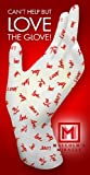 Malcolms Miracle LOVE Moisture Jamzz Moisturizing Gloves - Made in the USA with Biodegradable Packaging!