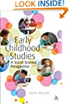 Early Childhood Studies: A Social Sci...