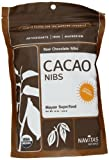 Navitas Naturals Cacao Nibs, 16-Ounce Pouches (Pack of 2)