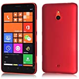 WOW Imagine Rubberised Matte Hard Case Back Cover For NOKIA LUMIA 1320 (Maroon Wine Red)