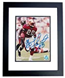 Garrison Hearst Autographed/ Hand Signed San Francisco 49ers 8x10 Photo - BLACK CUSTOM FRAME at Amazon.com