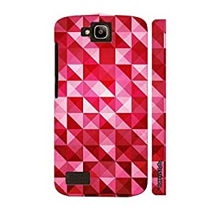 Huawei Honor Holly Pink Pyramids designer mobile hard shell case by Enthopia