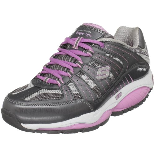 Skechers Women's Kinetix Response Sneaker Grey UK 6.5