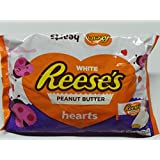 Reeses Peanut Butter Hearts White for Valentines Day