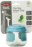 OXO Tot Flip Top Snack Cup (Aqua)