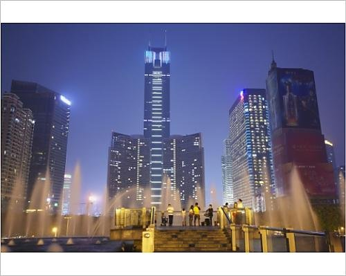 photographic-print-of-citic-plaza-at-dusk-tianhe-guangzhou-guangdong-china-asia