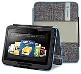 Timbuk2 (Kindle Fire HD専用)グリップスタージャケットカバー(スタンド機能つき)、グレーテクスチャー/グレー