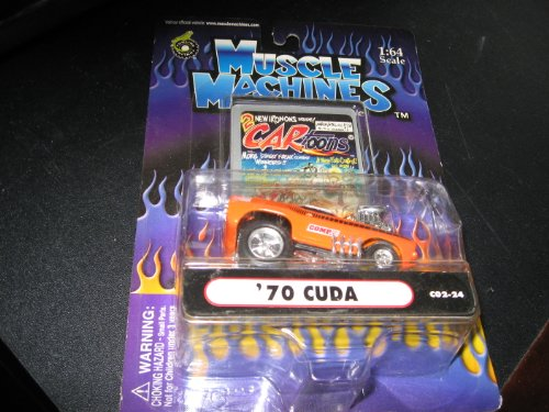 Muscle Machines: '70 Cuda Orange 1:64 C02-24