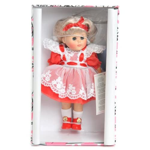 2000 ' FEBRUARY CALENDAR COLLECTION' Ginny doll stand Brand New Rare