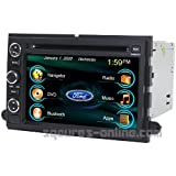 2009-2012 Ford E-150 E-250 E-350 2005-2006 Ford Focus 2005-2007 Freestyle 2004-2007 Freestar 2008-2009 Taurus 2005-2007 Five Hundred In-dash DVD GPS Navigation Stereo Bluetooth Hands-free Steering Wheel Controls Touch Screen iPod iPhone-Ready Deck AV Receiver CD Player MP3 AVI NAVI Video Audio NAVI Radio Square-S SS-9080FX w/ Digital TV Rear View Camera Option OEM Replacement