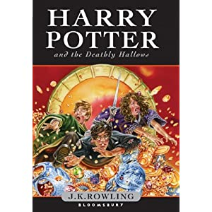Harry Potter and the Deathly Hollows Book Cover