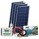 Unlimited Solar Sunroma 600 Watt 12 Volt RV Solar Charging System