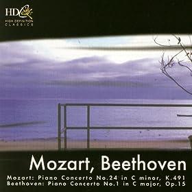 Mozart: Piano Concerto No. 24; Beethoven: Piano Concerto No. 1