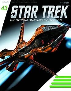 Star Trek Starships Figurine Collection Magazine #43 Species 8472 Bioship