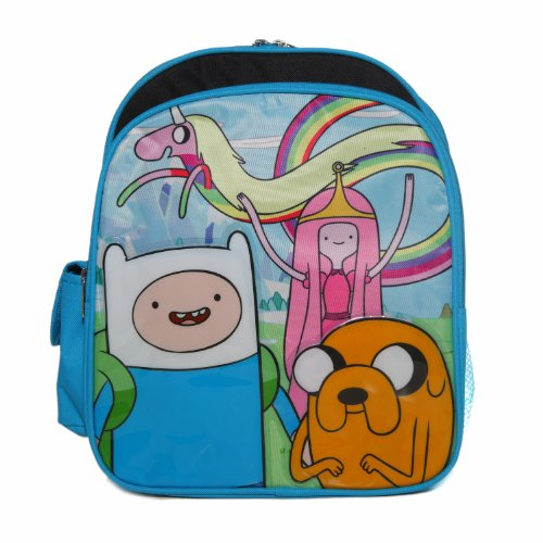 Ruz Adventure Time Jake, Finn And Princess Bubblegum Small Backpack Bag