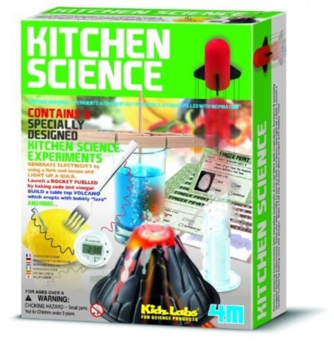 4M Kitchen Science Kit, Educational Toy 6 Experiments Chemistry Lab, New (Book For 16 Year Old Girl compare prices)