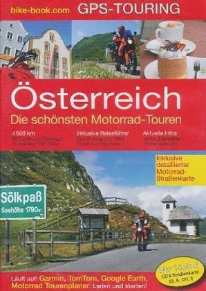 sterreich-GPS-Touren-mit-Straenkarte-200-000-import-allemand