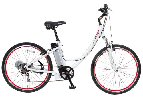 EZIP Skyline Low Step Electric Bicycle - White