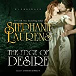 The Edge of Desire: A Bastion Club Novel (       UNABRIDGED) by Stephanie Laurens Narrated by Steven Crossley