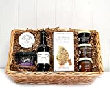 Port & Stilton Biscuits Gents Gift Tray by Fine Food Store Gift ideas for - Mothers Day, Valentines, Presents, Birthday, Men, Him, Dad, Her, Mum, Thank you, Wedding Anniversary, Engagement, 18th, 21st, 30th, 40th, 50th, 60th, 70th, 80th, 90th