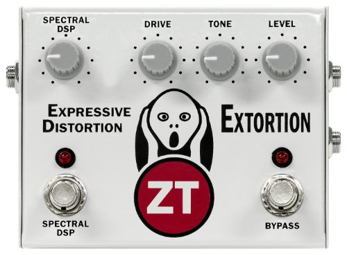 Zt Amplifiers Pex1 Extortion Expressive Analog/Dsp Hybrid Distortion Pedal