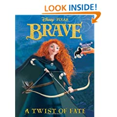 A Twist of Fate (Disney/Pixar Brave) (Reusable Sticker Book)