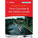 Collins/Nicholson Waterways Guides (4) - Four Counties and the Welsh Canalsby Collins Uk