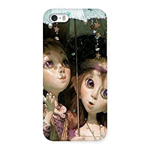 Ajay Enterprises Couple with umbrella Back Case Cover for iPhone SE