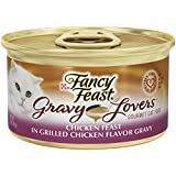 Fancy Feast Wet Cat Food, Gravy Lovers, Chicken Feast, 3-Ounce Can, Pack of 24