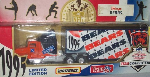 Chicago Bears 1995 NFL 1/87 Diecast Tractor Trailer Peterbilt Kenworth Truck Collectible Limited Edition Football Team Car By White Rose Matchbox the oxford handbook of political philosophy