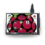 cocopar 4インチIPSハイビジョンLCD ディスプレイ タッチパネル タッチペン付